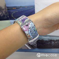Art Mosaic Pattern Apple Watch Strap Band 38 42 mm – UltraCase