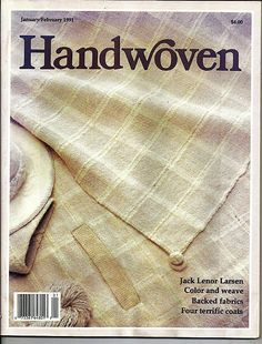 Handwoven / Color and Weave Magazine and Pattern BookJanuary/February 1991…