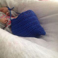 Crochet bonnet by MESH CROCHET Crochet Baby, Beanie, Mesh, Hats, Fashion, Moda, Hat, Fashion Styles, Beanies