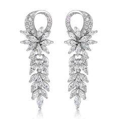 Hayden Crystal Elegant Earrings