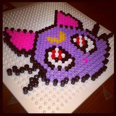 Luna Sailor Moon hama beads by cristina_ba