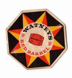 Red Barrel beer mat