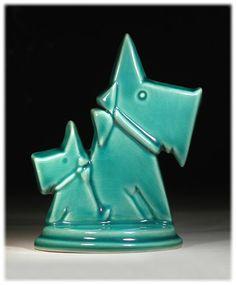 Art Deco Scotty Dogs