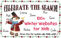 100+ Winter Websites for Kids!