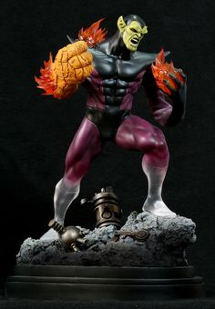 Super Skrull statue Sculpted by: Keith Kopinski  Release Date: April 2009 Edition Size: 1000 Order Of Release: Phase IV (statue #145)