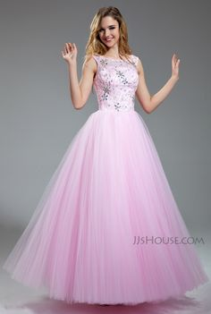 You'll look and feel like a princess in this sparkling gown at this year's Prom! #JJsHouse #Party #Prom