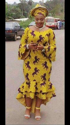 Beautiful ankara gown styles for curvy ladies, big and beautiful plus size women african ankara gown styles, african ankara gowns styles for sexy figure and curvy plus size ladies, thick women african ankara gown styles #ankaracollections #ankarstyles #asoebi #asoebispecial #asoebibella #plussize #plussizefashion