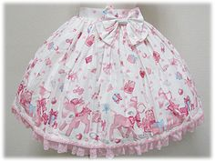 Angelic Pretty / Skirt / Milky-chan of the Fawn Skirt