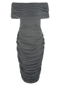 Cast Iron Kitty Dress - Charcoal