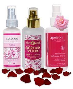 Růžová voda - Saloos, Purity Vision, Apeiron