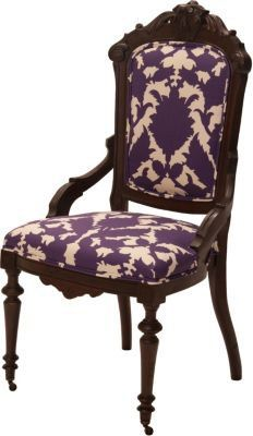 One Kings Lane - Trove Decor - Victorian Parlor Chair