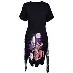 mm6 Maison Margiela Maison Margiela Printed Cats Dress (€283) ❤ liked on Polyvore featuring dresses, womenclothingdresses, cat pattern dress, cat dress, cat print dresses and mm6 maison margiela