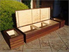 High Options Deck Storage Bench