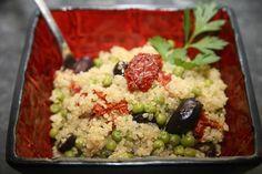 Quinoa aux tomates confites et pois pour 4 personnes - Recettes Elle à Table