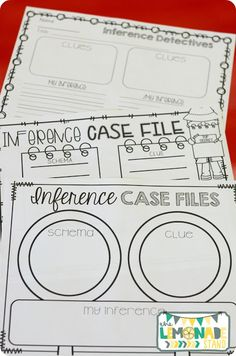 Lots of printables and activities for making inferences!  Great book ideas included!