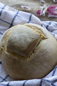 El pan milagro es un pan que no necesita levar y no hace falta amasarlo mucho para obtener unos resultados estupendos :D     Es una opc...