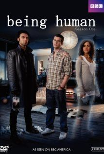 Being Human (UK): Aidan Turner, Russell Tovey and Lenora Crichlow a vampire, werewolf, and ghost with British and Scottish accents