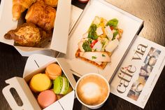 Fancy a lovely meal but not in the mood to cook or go to a restaurant? Head to #CaffeViaJBR at our #JAOceanViewHotel for many easy grab & go options, available 24/7. #Dubai #TheWalkJBR #GrabaVia