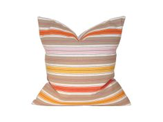 This pillow cover from Haus of Thread has really earned its stripes. In addition to a straight-up great geometric pattern, each one is made with the utmost care and attention. That means hand-cutting, hand-sewing, and a whole lotta love. Mix it in with traditional or modern elements—this versatile piece has all the right angles.