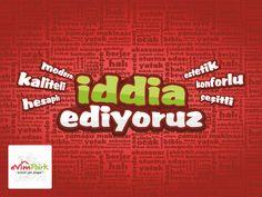 İDDİA EDİYORUZ! http://evimpark.com.tr/ #modern #kaliteli #hesaplı #estetik #konforlu #çeşitli #evimpark #aydın