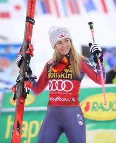 Ski Girl, Sport Girl, Sports Models, Sports Women, Olympic Winners, Mikaela Shiffrin, Ski Racing, Michaela, Sport Icon