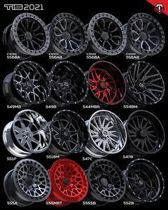 "TIS Wheels (@tiswheels) posted on Instagram: ""Here's an overview of some of our new styles for 2021. Which would you roll on? Contact your nearest ATD Dealer for more info and pre-…"" • Oct 27, 2020 at 11:16am UTC Wheels And Tires, Rolls, Instagram, Style, Swag, Buns, Bread Rolls, Outfits"