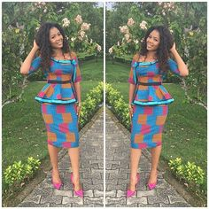 Lovely Skirt and Blouse Ankara Styles - DeZango Fashion Zone