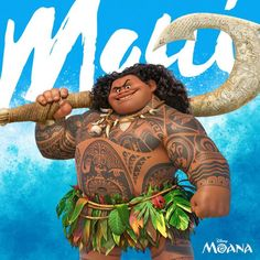 """rosworms: """" Maui is a powerful demigod. Big and strong and… oh, you think he looks fat? That's probably because you've been conditioned by the media to accept this as what strong and fit looks like...."""