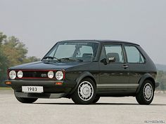 "1983 VW Golf GTi MkI with Pirelli ""P"" wheels"