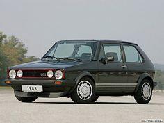 "1983 VW Golf GTi MkI with Pirelli ""P"" wheels"