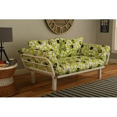 Everett Convertible Lounger in Full Circle Futon and Mattress - http://delanico.com/futons/everett-convertible-lounger-in-full-circle-futon-and-mattress-705841654/