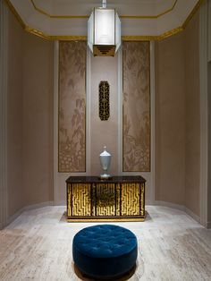 Champalimaud Interiors /   The Waldorf Astoria Hotel, Park Avenue Lobby