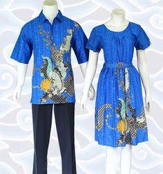 batik couple anak muda biru SM357 di http://senandung.net/batik-sarimbit/