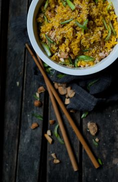 Learning to Spice [Coconut Turmeric Basmati with Cashews] - THE GOUDA LIFE