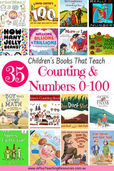 What better way to introduce number concepts to Kids than with Children's books For Teaching Numbers