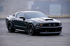 Top 20 Mustangs   2011 Ford Mustang V8 5 . 0 GT/CS Black Coupe MT - (Mods in my profile ...