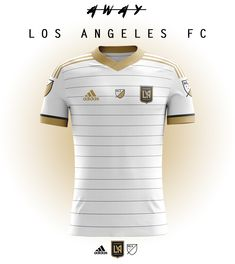 Kits concept for future MLS team, Los Angeles FC.