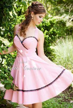"""Petticoatkleid"""" Nathalie-Rose"""" von Atelier Belle Couture 50er Jahre Petticoatkleider Rockabilly Kleider auf DaWanda.com"""
