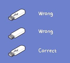 USBs in a nutshell : funny