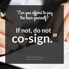 The fate of co-signers http://lctaylor.com/the-fate-of-co-signers