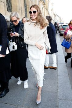 Oh, to be a fly tassel on that wall pencil skirt… #refinery29 http://www.refinery29.com/olivia-palermo-style-pictures#slide-25