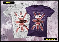 Geek t shirt God save the Geek by purplecactusdesign on Etsy, $23.50
