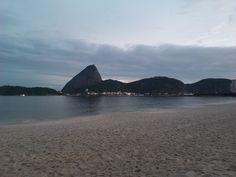 Vista do pão de açúcar a partir da praia do flamengo
