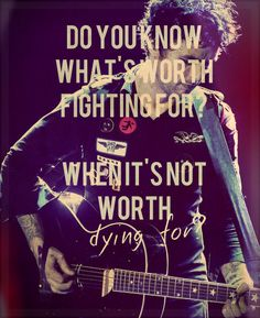 Green Day - 21 Guns.  I am currently obsessed with this song.