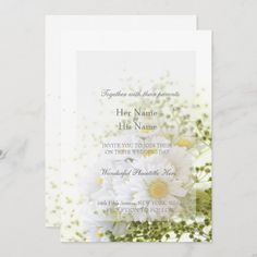 Daisy Wedding, Wedding Tips, Wedding Bouquets, Wedding Day, Elegant Invitations, Invitation Design, Custom Invitations, Wedding Invitations, Invite