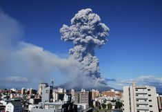 Volcanic smoke billows from Mount Sakurajima in Kagoshima, on the southern Japanese main island of Kyushu Sunday, Aug. 18, 2013. Kyodo reported that it erupted Sunday evening, marking the 500th eruption this year at the 1,117 meters (3,686 foot) high mountain, which is one of Japan's most active volcanoes. There is no immediate reports of injuries. (AP Photo/Kagoshima Local Meteorological Observatory)