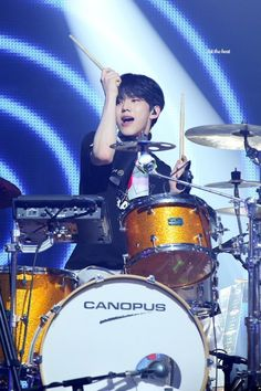 Park Sung Jin, Weak Knees, Day6 Dowoon, Young K, Pop Rock, Korean Bands, Play, Rock Bands, Drums