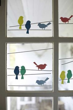 Chirping birds are a great addition to classroom decor.