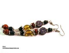 Earrings for Women, Dangle Earrings, Boho Earrings, Owl Earrings, Long Earrings, Bohemian Jewelry