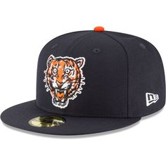 a681aa7e Detroit Tigers New Era Cooperstown Collection Wool 59FIFTY Fitted Hat - Navy
